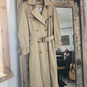 Burberry's Authentic Vintage Classic Trench Coat